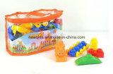 ブロックのおもちゃを学ぶプラスチック文字番号の袋