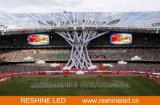 Afficheur LED de périmètre de stade de Reshine P10 pour le football, le football, la publicité de stade