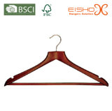 Flat Top Hanger Suit con anti-scivolo Pant Bar (MC032)