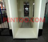 Cabine manual do revestimento do pó do PVC para a mudança da cor rápida