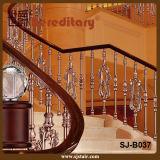 Trilhos de alumínio luxuosos para a pérola da casa de campo e o ouro branco (SJ-B037)