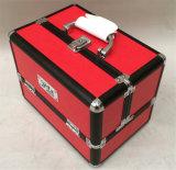 O caso de alumínio da beleza compo a caixa de alumínio da caixa (ABTC-2964)
