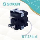 Interruptor giratório do codificador da corrente de tração da corda da posição de Soken 8