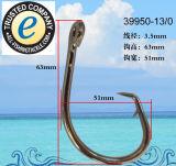 Edelstahl-Fischerei-Haken-einzelner Haken 39950