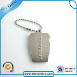 Sleutelring van Keychain \ van het Embleem van de Legering van het zink de Herinnering Gepersonaliseerde