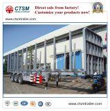 3-as de Rechte Aanhangwagen van de Vrachtwagen van de Oplegger van het Vervoer van de Straal Houten