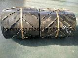 Bande de conveyeur en caoutchouc de cordon en acier résistant d'abrasion
