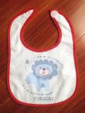 Выполненный на заказ хлопок напечатанный шаржем Терри подгонял выдвиженческий Bib младенца