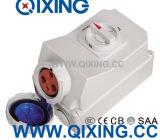 125A 5p электрические делают ый водостотьким переключатель водостотьким штепсельной розетки