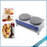Máquina del fabricante de la crepe del departamento de la torta