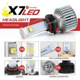 9006의 Hb4 6000k 40W 크리 사람 3600lumens LED 헤드라이트 전구