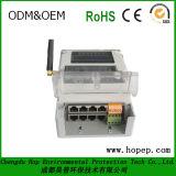 最高に正確なGPRSのタイプ無線電気エネルギーメートル、三相四線式無線電子メートル