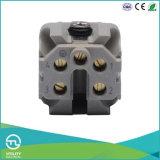 Разъём-розетка 230V/10A миниого размера Ha 4p электронное мыжское