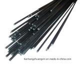 Tubo tejido de la fibra del carbón para el helicóptero