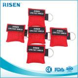 Kundenspezifische Firmenzeichen-preiswerte Förderung Wegwerf-CPR Atmung-Schablone