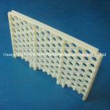 Folha/parte de nylon plásticas feitas à máquina CNC