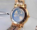 方法日本動きの自動ステンレス鋼のレディース・ウォッチ