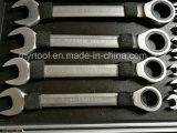 la clé de la vitesse 22PCS stable a placé dans le cas d'Alumium de ruban (FY1022A)