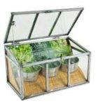 홈 정원에 있는 플랜트 꽃을%s 소형 공간 PVC/Glass 온실