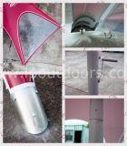 tent van de Schaduw van de Ster van het Aluminium van 10X14m de Openlucht met de Druk van het Embleem