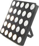 25PCS 3W는 단계 디스코를 위한 백색 LED 매트릭스 곁눈 가리개 빛을 데운다