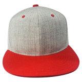 Casquillo del Snapback con la corona de lana con el pico plano (1402C)
