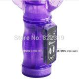 Heet Verkopend Silicone 30 Producten die van de Vrouwen van het Stuk speelgoed van het Geslacht van de Vibrator van Dildo van het Geslacht van het Konijn van de Liefde van de Snelheid de Mooie Vibrator Zd0096 duwen