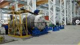 Forro de tanque químico do armazenamento de ASME com PE PTFE com válvulas e o calibre nivelado