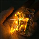 Fee van het Micro- van aa Kerstmis van het Huwelijk van de Romantische LEIDENE Koord batterij-stelt de LEIDENE on/off Veelkleurige in werking Schakelaar van Lichten