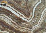 木のオニックス大理石の平板のオニックスの平板