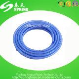 Boyau de jardin flexible bleu de PVC pour le boyau de l'eau d'irrigation