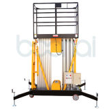 novo tipo elevador hidráulico Ungraded da plataforma de trabalho aéreo do mastro de 9m