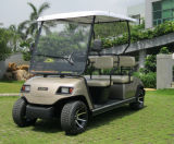 電池式の4つのシートの実用的なゴルフカート