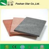 El panel de la tarjeta del revestimiento del cemento de la fibra--Material de construcción aprobado del Ce