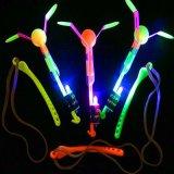 LED Slingshot Camping Copter Toy