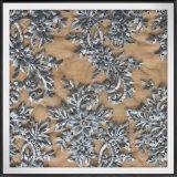 Шнурок вышивки цветка шнурка вышивки Tulle шикарного шнурка вышивки сетки чувствительный