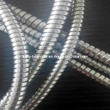 La qualité a ridé le conduit flexible imperméable à l'eau en métal de 6mm