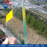 Vidro de flutuação laminado de segurança transparente de 10,38 mm com padrão australiano AS / NZS2208