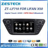 Lettore DVD dell'automobile per Lifan X50 con lo schermo di tocco di 7 pollici