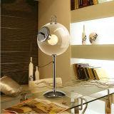 Lâmpadas modernas de mesa de bolinhas de sabão Luminárias de mesa de vidro claras redondas para o quarto de casa Use luzes de leitura