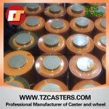 Roda de poliuretano com centro de alumínio