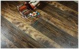 Pavimentazione laminata di legno della quercia del hickory raschiata mano della noce