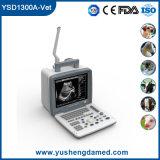 Iso Ysd1300-Vet approvato del CE veterinario portatile completo dello scanner di ultrasuono di Digitahi