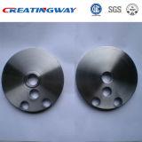 CNC que faz à máquina as peças do aço inoxidável