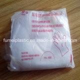 Перчатки ясности PE пластичных перчаток устранимые прозрачные