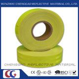 Nastro riflettente fluorescente di verde giallo di alta visibilità per lo scuolabus (CG5700-OF)