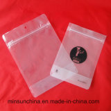 Saco plástico material do Zipper da folha de alumínio