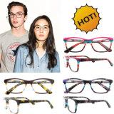 Gli occhiali popolari incorniciano gli ultimi blocchi per grafici italiani degli occhiali dei telai dell'ottica