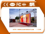 Pared video a todo color al aire libre/pantalla/el panel de P4.81 LED para la visualización de LED de alquiler