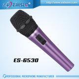 Nuovo disegno di Ealsem Es-6520 con il microfono di condensatore di canto della rete di calcolatore della batteria